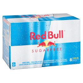 Red Bull - Sugar Free - 8x250ml