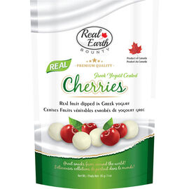 Real Earth Bounty Greek Yogurt - Cherries - 85g