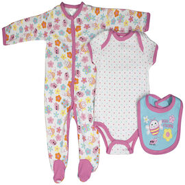 Baby Mode Bee Happy 3-Piece Set - 7630 - Assorted