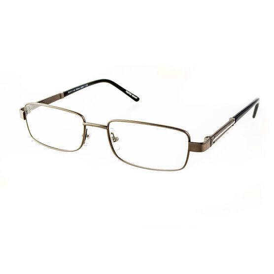 Foster Grant Jagger Reading Glasses - Gunmetal - 2.50