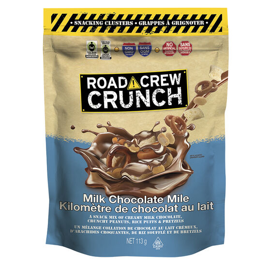 Road Crew Crunch - Milk Chocolate Mile - 113g