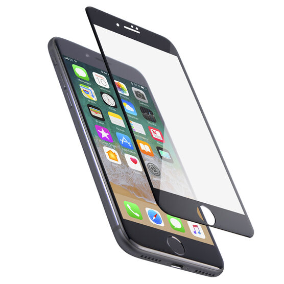 Logiix Phantom Glass Arc for iPhone 7 - Black Frame - LGX12344