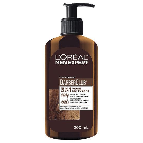 L'Oreal Men Expert BarberClub 3 in 1 Wash - 200ml
