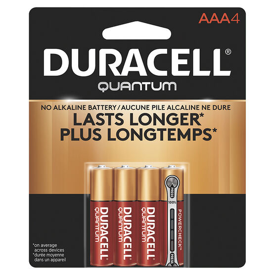 Duracell Quantum AAA Batteries - 4pack