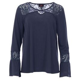 Lava Bell Sleeve Shirt - Denim - Assorted
