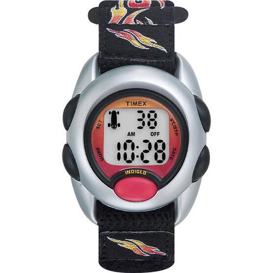 Timex Youth Boys Digital Watch - Black/Silver - T78751XY