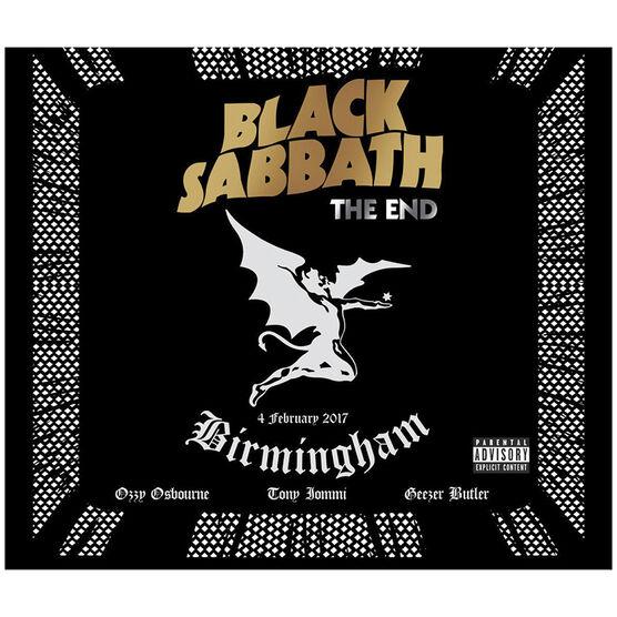 Black Sabbath: The End - Blu-ray