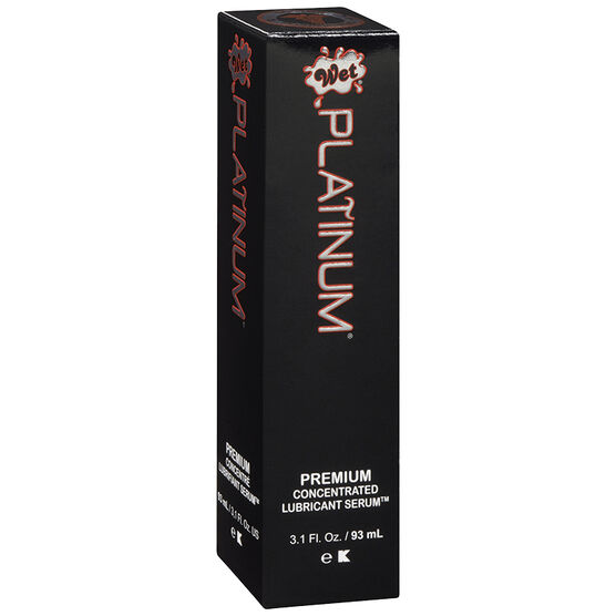 Wet Platinum Premium Concentrated Lubricant Serum - 93ml