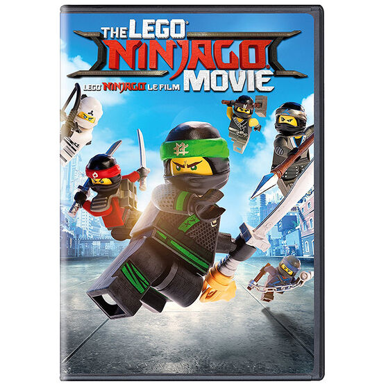 The Lego Ninjago Movie - DVD