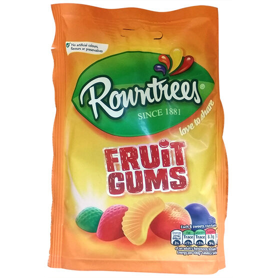 Rowntrees Fruit Gums - 150g