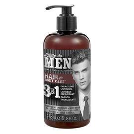 Dippity-Do Men 3 In 1 Shampoo Conditioner & Bodywash - 473ml
