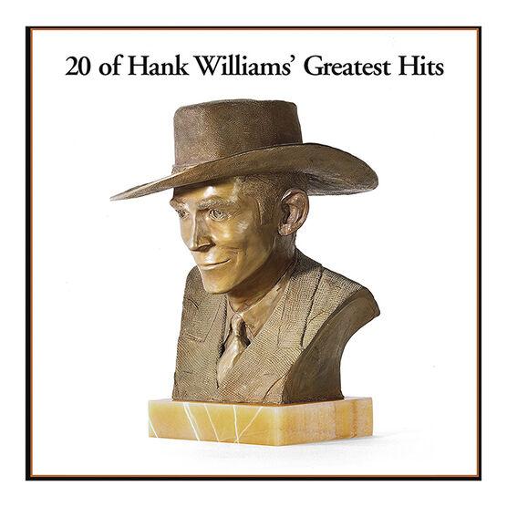 Hank Williams - 20 of Hank Williams' Greatest Hits - Vinyl