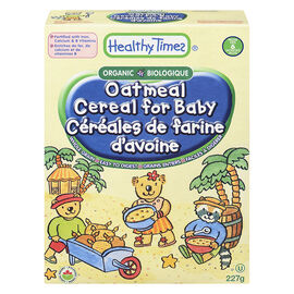 Healthy Times Organic Baby Cereal - Oatmeal - 227g
