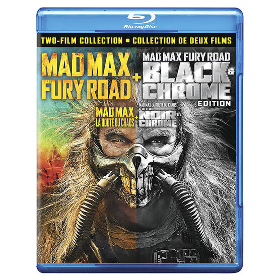 Mad Max: Fury Road (Black and Chrome Edition) - Blu-ray