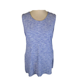 Lava Ribbed Tank with Side Slit