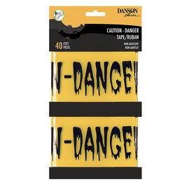 Danson Halloween Danger Tape - 2 x 20feet