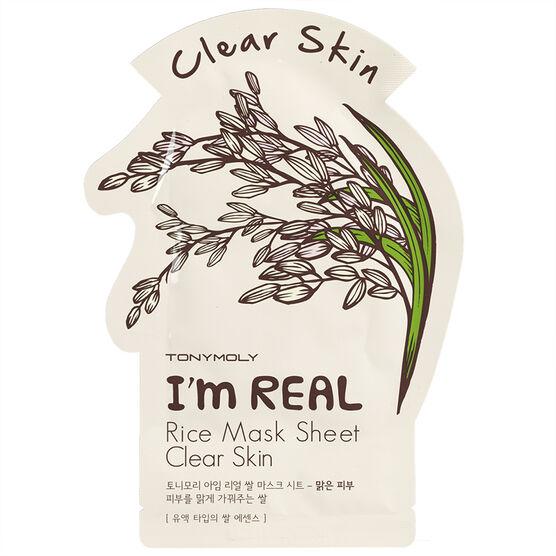 TonyMoly I'm Real Rice Mask - Clear Skin