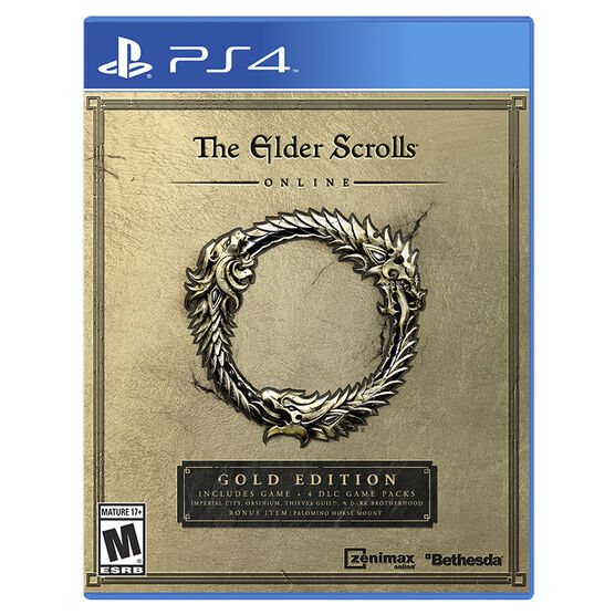 PS4 The Elder Scrolls Online: Gold Edition