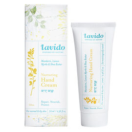 Lavido Nurturing Hand Cream - Mandarin, Lemon Myrtle & Shea Butter - 70ml