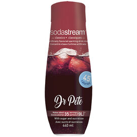 SodaStream Syrup - Dr. Pete - 440ml