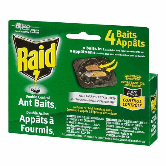 Raid Ant Baits Double Control - 4 pack