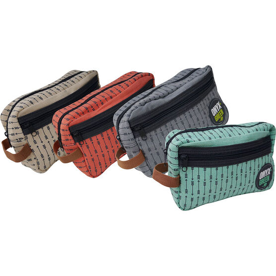 Onyx Green Pencil Pouch - Ramie - Assorted