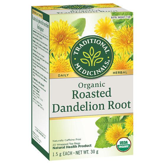 Traditional Medicinals Herbal Tea - Organic Roasted Dandelion Root - 20's