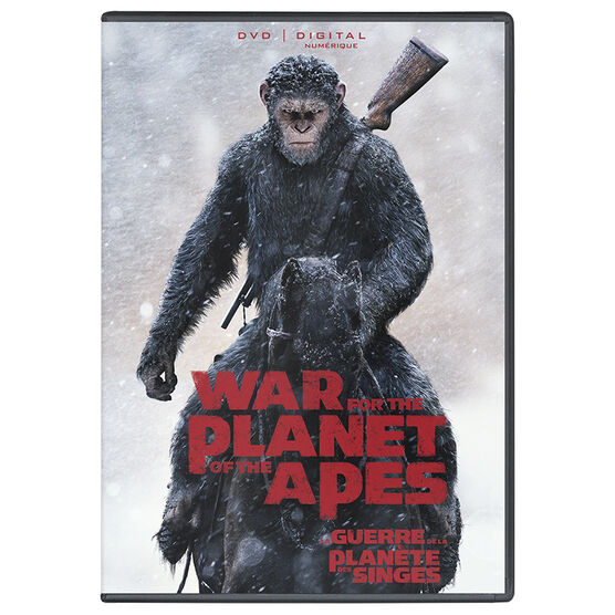 War For The Planet Of The Apes - DVD