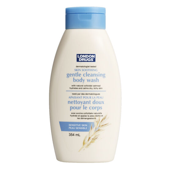 London Drugs Gentle Cleansing Body Wash - Sensitive Skin - 354ml