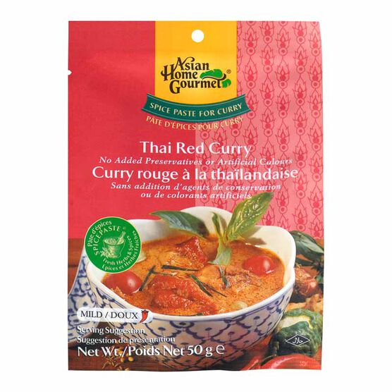 Asian Home Gourmet Thai Red Curry - 50g