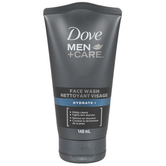Dove Men+Care Hydrate+ Face Wash - 148ml