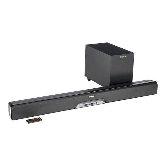 Klipsch RSB6 Soundbar with 6.5-in Wireless Sub - Black