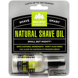 Pacific Shaving Company Natural Natural Shaving Oil - 15ml