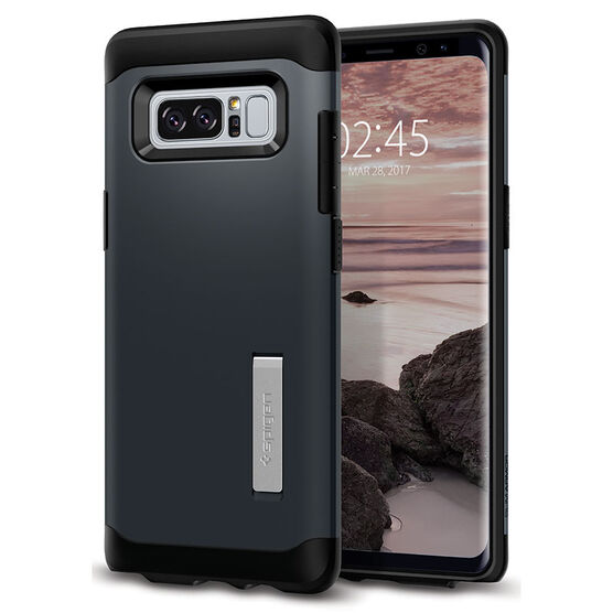 Spigen Slim Armor Case for Samsung Galaxy Note 8 - Metal Slate - SGP587CS21834