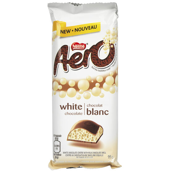 Nestle Aero Bar - White Chocolate - 95g