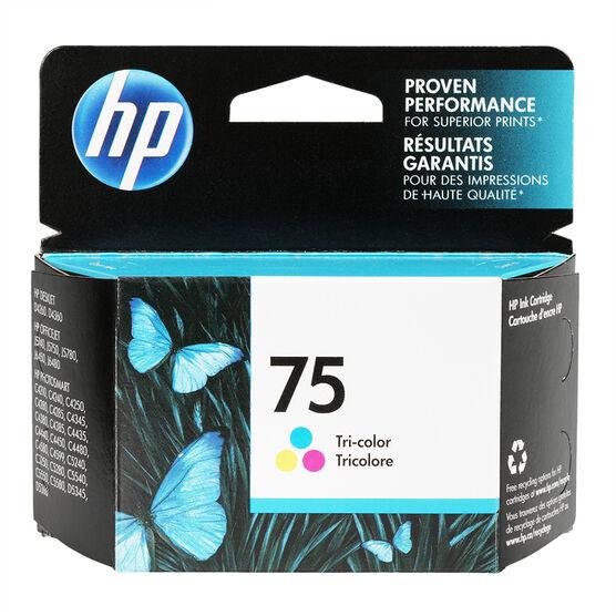 HP 75 J5700 Series Ink Cartridge - Tri-Colour - CB337WC-140