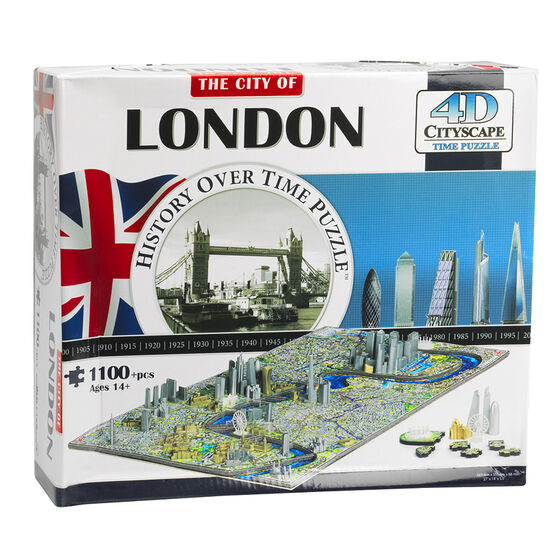 Cityscape 4D Puzzle - London