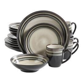 Gibson Stoneware Dinnerware Set - Elite Lewisville - 16 piece