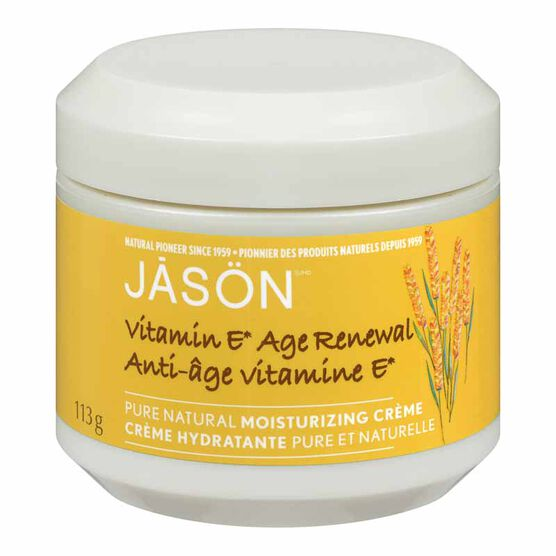 Jason Vitamin E Age Renewal Moisturizing Creme - 113g