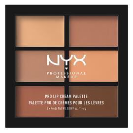 NYX Professional Makeup Pro Lip Cream Palette