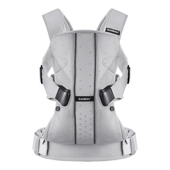 BabyBjorn Baby Carrier One - Silver Mesh - 093004CA