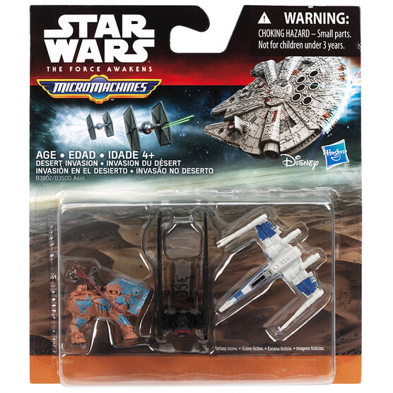 Star Wars Episode 7 Vehicle - Assorted - 3 Pack
