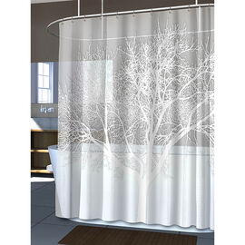 Splash Eva Shower Curtain Liner - Pearl