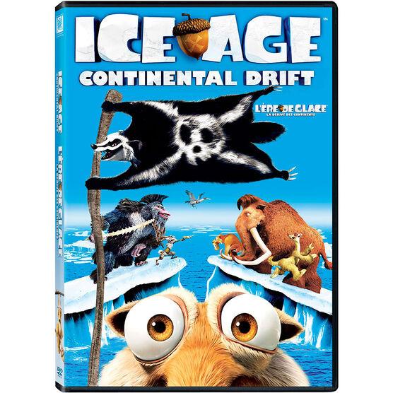 Ice Age: Continental Drift - DVD