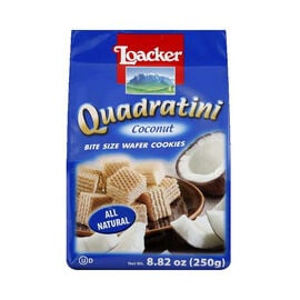 Loacker Quadratini - Coconut - 250g