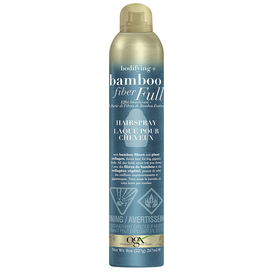 OGX Bamboo Fiber Full Hairspray - 267ml
