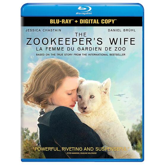 The Zookeeper's Wife - Blu-ray