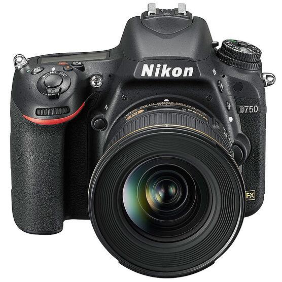 Nikon D750 Digital SLR Camera with 24-120mm VR Lens - 33711