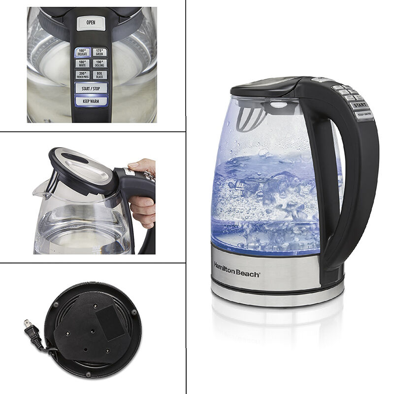 Stainless Steel Oster 1.7L Variable Temperature Kettle