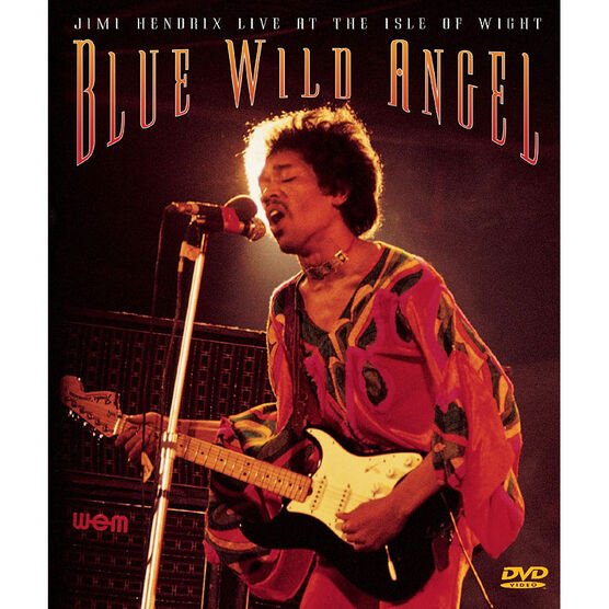 Jimi Hendrix Live at the Isle of Wight: Blue Wild Angel - DVD